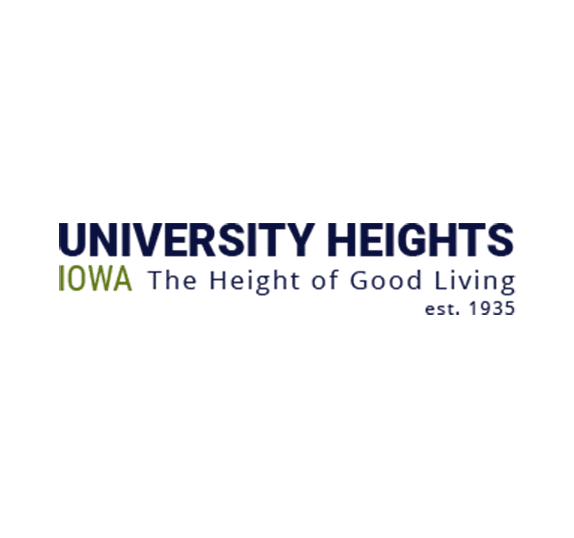 University Heights Iowa The Height of Good Living, established 1935